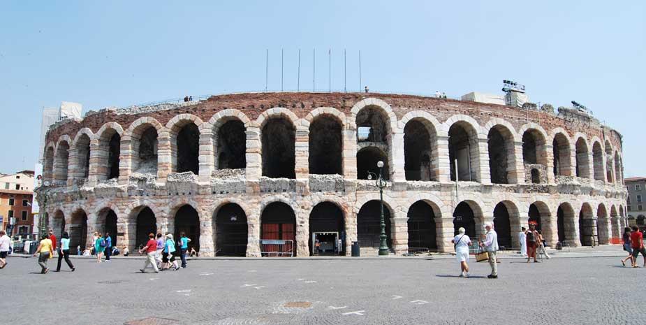 Arena di Verona - Attractions Near B&B Le Tre Corti Treviso