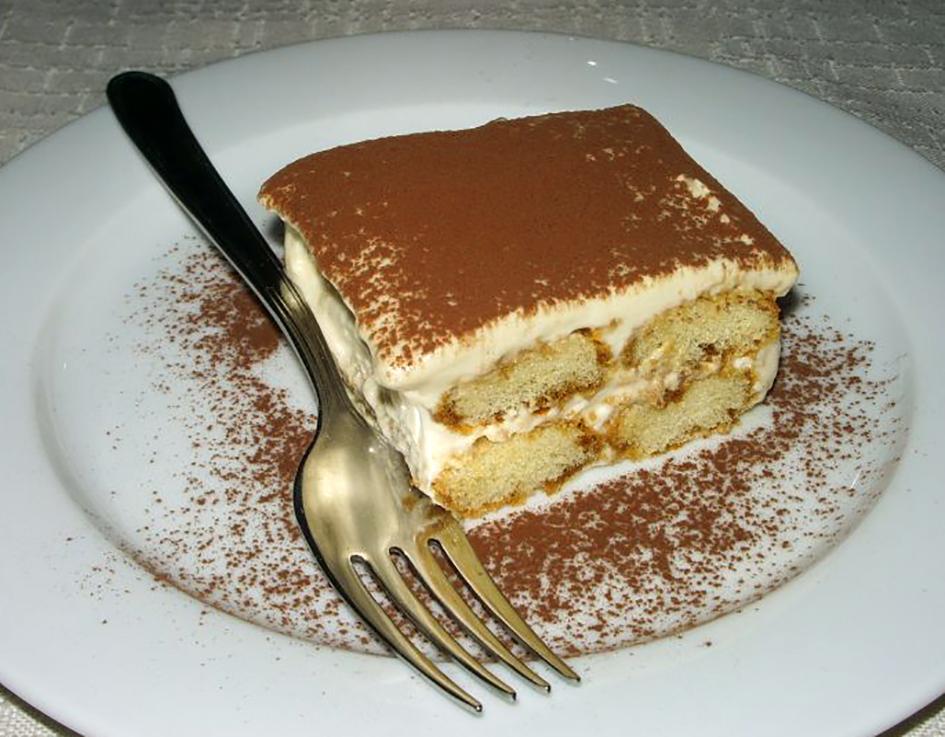 Tiramisu Dessert - About Treviso B&B Le Tre Corti