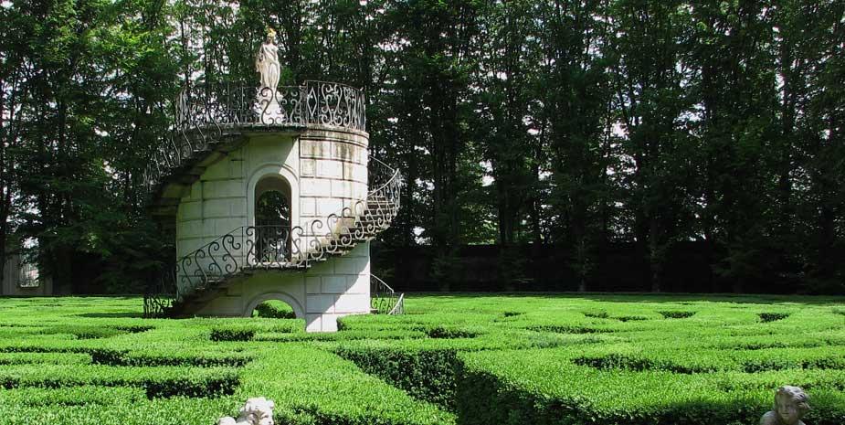 Labytinth Villa Pisani Stra - Attractions Near B&B Le Tre Corti Treviso